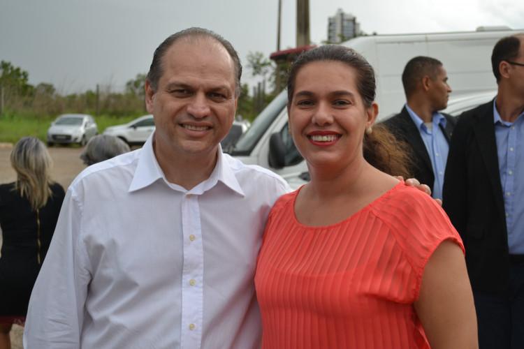 Ministro Ricardo Barros e Arlete Otoni