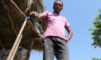 Presidente da ATS vistoria obras de melhoria e extensão da Rede de Abastecimento de Água em São Félix, na região do Jalapão