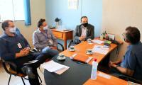 ATS visita municípios das regiões centro-sul e sudeste para inspecionar instalações e ouvir demandas da população