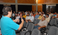 Alunos do Instituto Federal de Araguatins visitam as áreas de atuação da Agência de Tecnologia