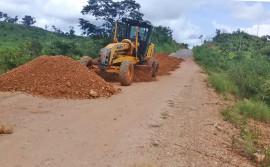 Governo do Tocantins executa melhorias e correção de erosão em estradas estaduais
