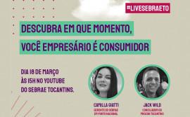 Na Semana do Consumidor, Procon Tocantins participa de live de capacitação para empresários