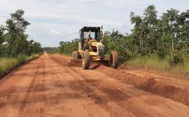 Governo do Tocantins realiza manutenção na T0-040, entre Almas e Pindorama