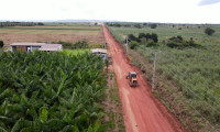 Estradas do Projeto de Irrigação São João recebem manutenção do Governo do Tocantins