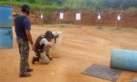 Casa Militar realiza instrução de tiro