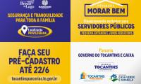 Governo do Tocantins abre cadastro prioritário de vendas de apartamentos para servidores públicos