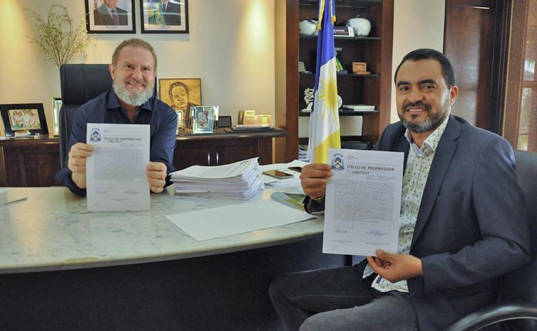 Apenas na gestão municipalista do governador Mauro Carlesse, mais de 4,8 mil famílias irão receber seus títulos de propriedades no Tocantins