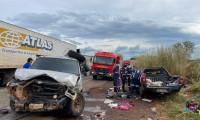 Bombeiros militares atendem a dois acidentes graves nesse sábado, 15