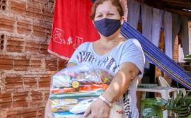 Governo do Tocantins atende 23 municípios com a entrega de 56 toneladas de alimentos