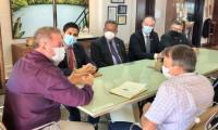 Presidente do Grupo Mateus visita o Tocantins e estuda possibilidade de retomar os investimentos no Estado
