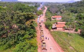 Governo do Tocantins inicia, no Bico do Papagaio, um mutirão para manutenção de rodovias estaduais