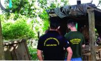Operação integrada de fiscalização ambiental apreende animais silvestres abatidos em Arapoema