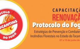 Semarh inicia Semana do Meio Ambiente com capacitação sobre a Renovação do Protocolo do Fogo