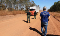 Operação integrada do Naturatins e Polícia Militar Ambiental apreende materiais e aplica mais de R$ 6 mil em multas