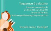 Festival de música Capoeboicongo 2021 abre inscrições para 2ª edição em formato virtual