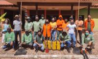Naturatins realiza capacitação da brigada municipal de Mateiros para prevenção e combate aos Incêndios Florestais.