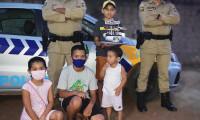 PM participa de festa de aniversário de criança que é fã da polícia