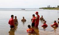 Salva vidas finalizam Nivelamento em Salvamento Aquático, com ações no Rio Sono