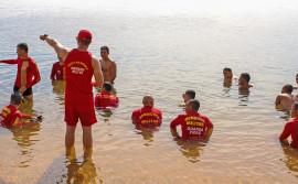 Com ações no Rio Sono, salva-vidas finalizam Nivelamento em Salvamento Aquático