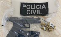 Homem é preso por porte ilegal de arma de fogo em Lagoa da Confusão