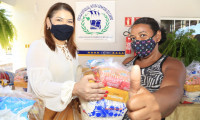 Terceira etapa da entrega de kits de alimentos para estudantes da rede estadual inicia por Crixás e Aliança do Tocantins