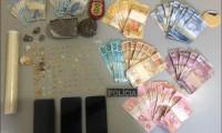 Operação conjunta da PM e PC apreende drogas e prende duas mulheres em Peixe