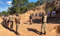 PM capacita efetivo para manuseio e uso das pistolas Glock em Colinas do Tocantins