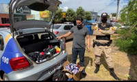 Em ação rápida, Polícia Militar prende suspeito de furtar estabelecimento comercial no Jardim Aureny IV em Palmas
