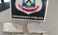 Polícia Civil encontra várias porções de drogas escondidas em bananeiras no extremo norte do Estado