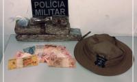Dupla de traficantes é presa e quase dois quilos de drogas apreendidas pela PM em Guaraí