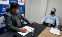 Superintendente do Procon recebe novo gestor dos Correios no Tocantins
