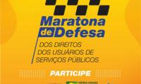 Casa Militar adere à Maratona de Defesa dos Direitos dos Usuários de Serviços Públicos.