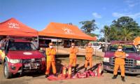Jalapão: bombeiros militares de olho nas queimadas e apoio na Etapa Tocantins do Rally dos Sertões