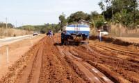 Governo do Tocantins acelera obras de pavimentação do Jardim Taquari com o fim do período chuvoso