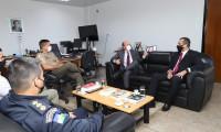 Secretário da Segurança Pública de Rondônia realiza visita técnica para conhecer moto policiamento tático do Tocantins