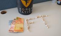 Polícia Militar prende suspeito de tráfico de drogas em Porto Alegre do Tocantins