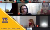Controladoria-Geral do Tocantins promove diálogo sobre ouvidoria e controle social com Conselho Estadual de Assistência Social