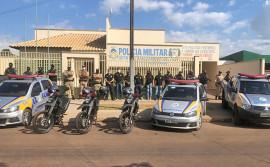 Forças de Segurança deflagram operação de prevenção e combate à criminalidade em Miranorte