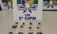 Adolescente infrator é apreendido pela Polícia Militar com drogas em Aguiarnópolis