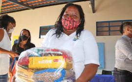 Governo do Tocantins inicia entrega de kits de alimentos para estudantes dos municípios da Regional de Palmas