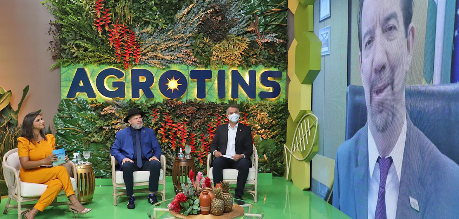 Governador destacou as potencialidades do Tocantins no setor do agronegócio e contribuições do setor para o desenvolvimento e crescimento do Estado