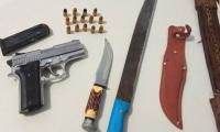 Menor é apreendido com arma pela PM em Silvanópolis