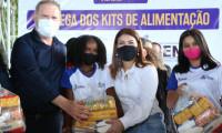 Governador Mauro Carlesse inicia entrega de kits de alimentos na região do Bico do Papagaio
