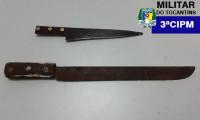 Polícia Militar prende homem por roubo em Colinas do Tocantins