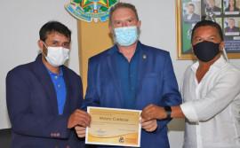 Governador Mauro Carlesse é agraciado com o Título de Cidadão Honorário de Axixá do Tocantins