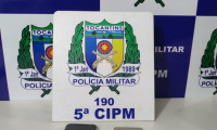 Dupla é presa pela PM após roubo em Palmeiras do Tocantins