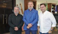 Governador Carlesse e Bispo Guaracy debatem projetos que visam ao desenvolvimento socioeconômico do Tocantins