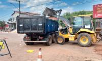 Governo do Tocantins mantém ritmo acelerado das obras de reconstrução asfáltica do perímetro urbano de Augustinópolis