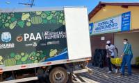 Governo do Tocantins entrega mais de 4 toneladas de alimentos da agricultura familiar ao município de Colinas
