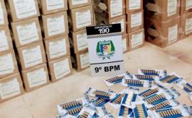 Polícia Militar faz uma das maiores apreensões de munições no Bico do Papagaio e prende três pessoas